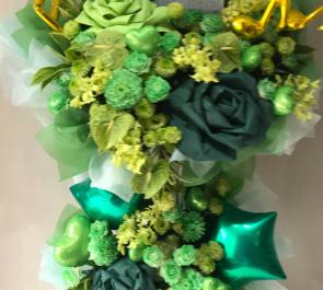 聖ジュリアーノ音楽院 彩我みのり様の卒業イベント祝いスタンド花
