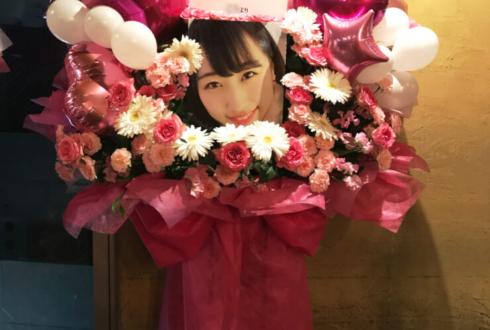 TSUTAYA O-nest Q-pitch田山せかい様の生誕祭バルーンスタンド花