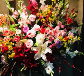 南青山 メソッド株式会社様の開業祝い花