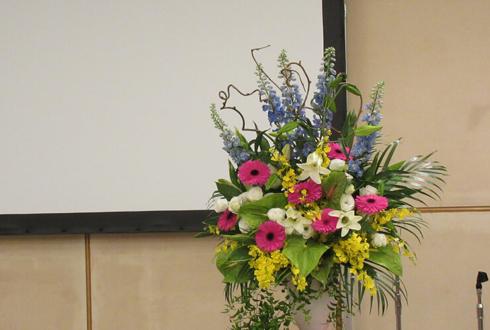 NTT武蔵野研究開発センター様の式典用壇上花