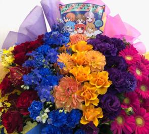 両国国技館 すとろべりーぷりんす様の「すとめもvol.6」公演祝い花 6colors