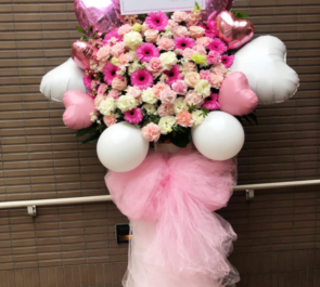 R'sアートコート 吉澤翼様のCDリリースイベント祝いバルーンフラスタ