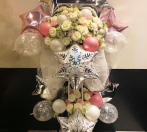 品川ステラボール Highlight ヤン・ヨソプ様のソロコンサート公演祝いバルーンスタンド花