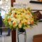 渋谷ビジョナリーアーツ内 WHITE GLASS COFFEE様の開店祝いスタンド花