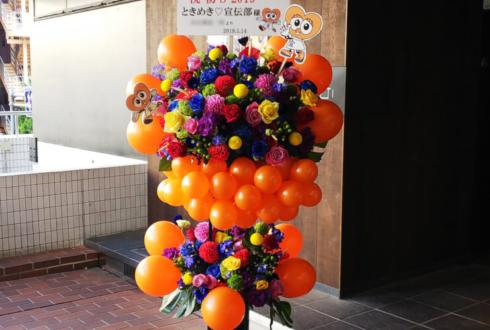 ZeppDivercityTokyo ときめき宣伝部様のライブ公演祝いバルーンスタンド花