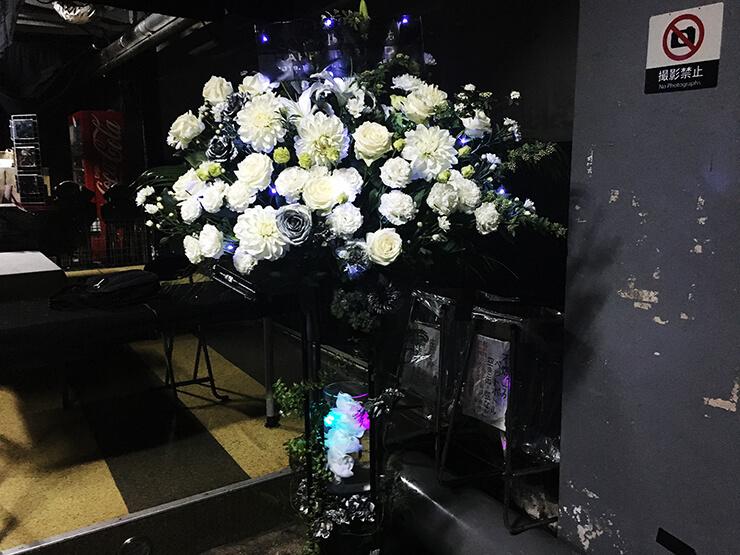 浦和ナルシス [enver ]brain 憂佑様のバースデーライブ公演祝いフラスタ