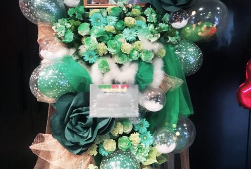ZeppTokyo あほの坂田様 & うらたぬき様のURASAKA KINGDOMライブ公演祝いフラスタ