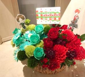 ZeppTokyo あほの坂田様 & うらたぬき様のURASAKA KINGDOMライブ公演祝い花