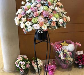 恵比寿ザ・ガーデンホール 多和田任益様のNostalgic Wonderland♪出演祝いスタンド花