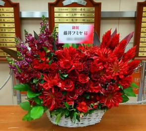 日本武道館 藤井フミヤ様のカウントダウンライブ公演祝い楽屋花