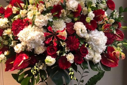 品川インターシティーホール 神田聖司様のイベント祝いスタンド花