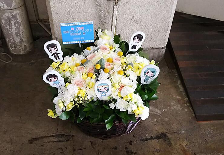 銀座博品館劇場 和田雅成様の舞台星型出演祝い花