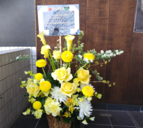 新宿BLAZE 駒形友梨様のライブ公演祝い花