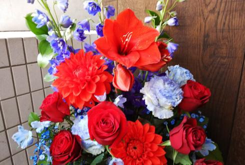 赤坂MINORI 植村梓様の生誕祭祝い花 Red×Blue
