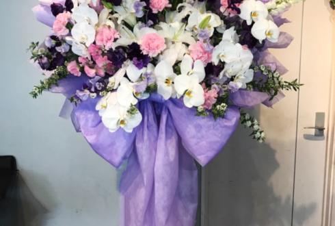ときわホール 土井一海様のバースデーイベント祝い花束風スタンド花