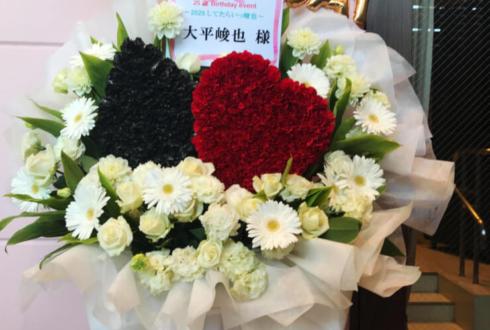 バトゥール東京 大平峻也様のバースデーイベント祝いハートスペードモチーフデコフラスタ