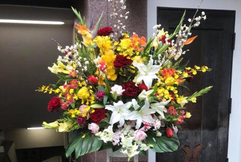 銀座 カラオケBAR depart様の開店祝いスタンド花