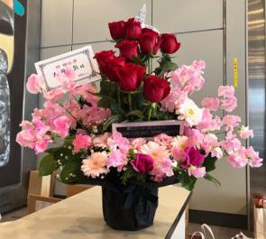 全労済ホール/スペース・ゼロ 大河元気様の舞台「DARK CROWS  2019 トキノソラ」出演祝い花