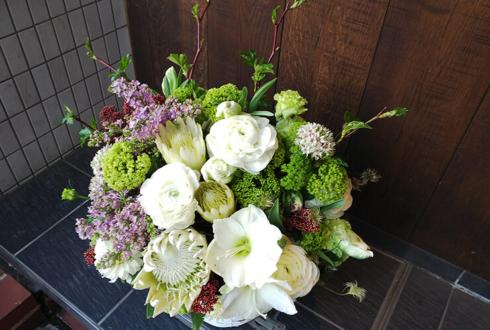 池袋虜 長谷川晋平(ハセプロ)様のトークショーゲスト出演祝い花