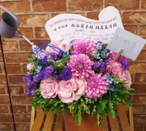 舞浜アンフィシアター 幽谷霧子役 結名美月様のシャニマス出演祝い花
