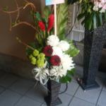 中野WestEndStudio 楠世蓮様の主演舞台『二酸化炭素』中日(ちょっと過ぎ)祝い籠スタンド花