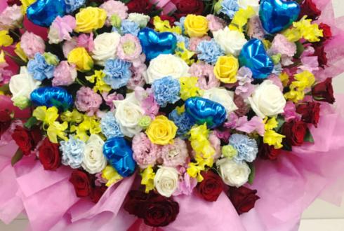 WALLOP放送局 志茂星哉様のWALLOP出演祝い花束風スタンド花