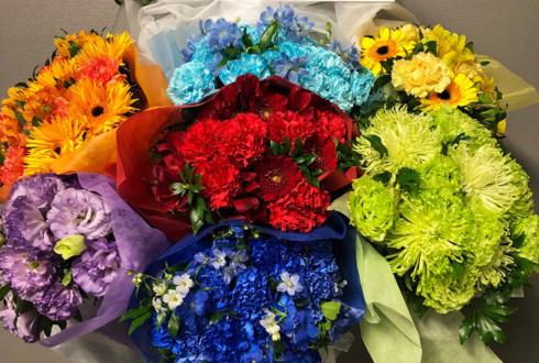 さいたまスーパーアリーナ Wake Up, Girls!様のFinalLive『~想い出のパレード~』公演祝い7colors花束フラスタ