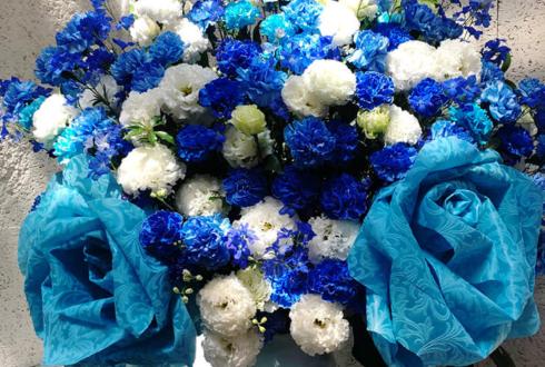 吉祥寺シアター 宮原奨伍様の舞台出演祝いアイアンスタンド花