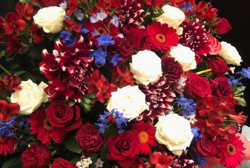 Mt.RAINIER HALL SHIBUYA PLEASURE PLEASURE 22/7 帆風千春様のライブ公演祝い&誕生日祝い花