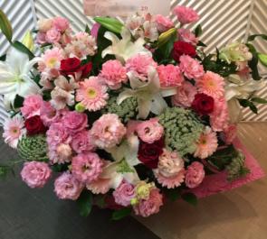 CBGKシブゲキ!! 渡邉駿輝様&大島海様の舞台版「魔法少女(?)マジカルジャシリカ」出演祝い花