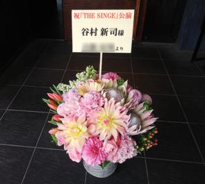国立劇場 谷村新司様のコンサート公演祝い楽屋花