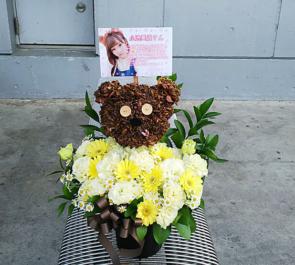 幕張メッセ 欅坂46 小池美波様の握手会祝い花 ティムモチーフデコ