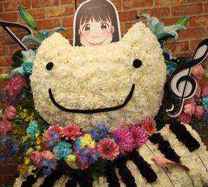 東京国際フォーラム 早見沙織様のコンサートツアー祝いはやみん猫モチーフフラスタ