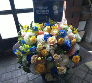 豊洲PIT HIGHLIGHT LEE GIKWANG(イ・ギグァン、이기광)様の入隊前ラストソロコンサート祝い花