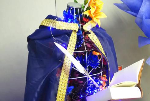 さいたまスーパーアリーナ 徳武竜也様 九十九一希様の出演祝い トルソーフラスタ