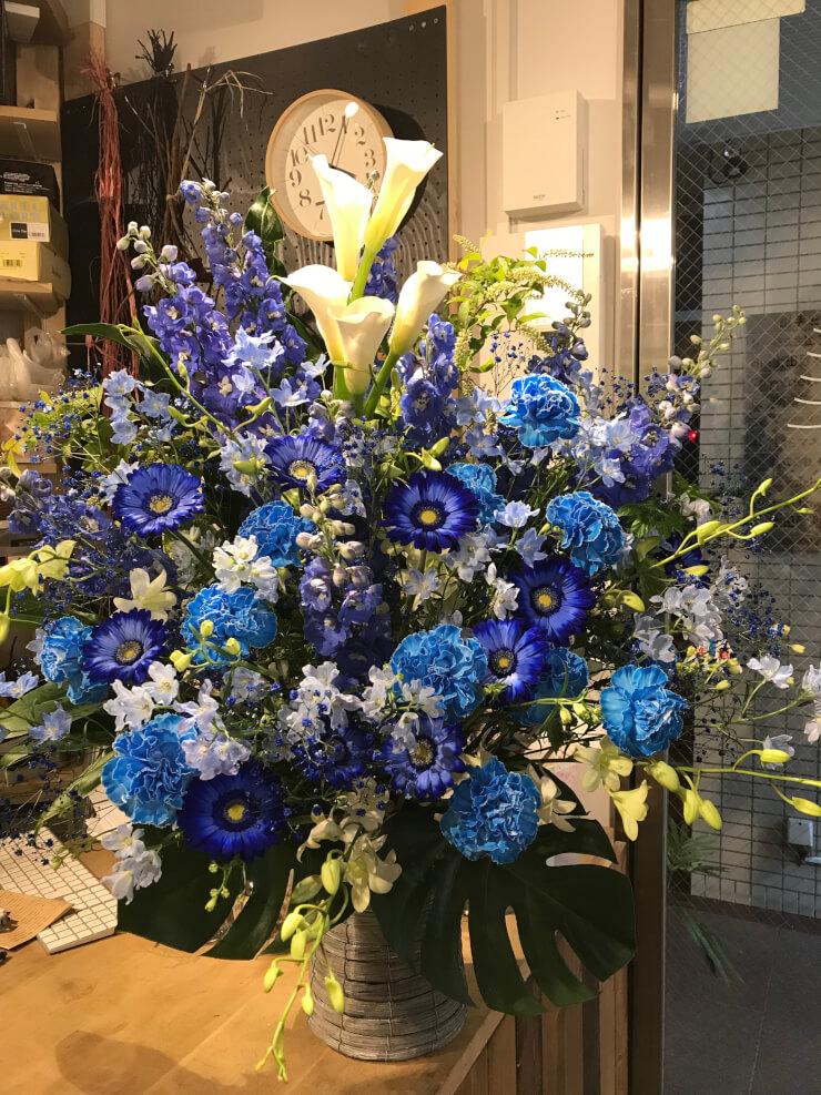 Bunkamuraオーチャードホール 新妻聖子様のコンサート公演祝い楽屋花