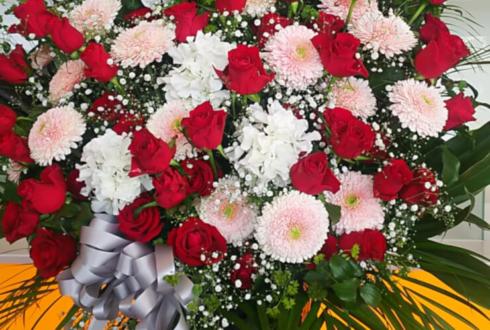 舞浜アンフィシアター 虎石和泉役 高野洸様の『Caribbean Groove』出演祝いアイアンスタンド花