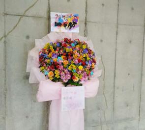 幕張メッセ すとろべりーぷりんす様のすとめも7公演祝い花束風スタンド花