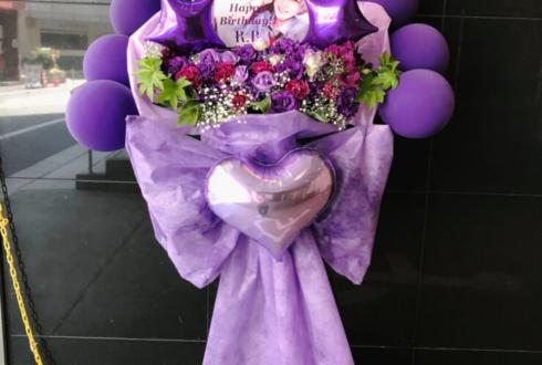 聖ジュリアーノ音楽院 天神るる様の生誕祭祝いバルーンスタンド花