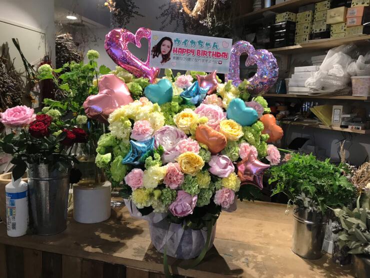 渋谷LOFT9 ファーストサマーウイカ様の生誕祭祝い花