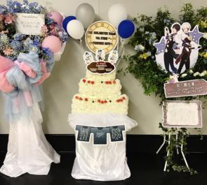 さいたまスーパーアリーナ Legenders様のSideM4th出演祝いのケーキモチーフフラスタ