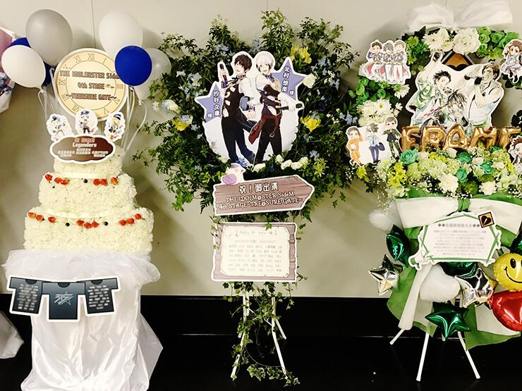 さいたまスーパーアリーナ Legenders北村想楽役 汐谷文康様のSideM4th出演祝いスタンド花