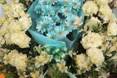 舞浜アンフィシアター 北川尚弥様のスタミュミュカリグル出演祝い花束入りスタンド花