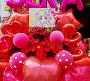 渋谷チェルシーホテル sera様のライブ公演祝いバルーンフラスタ