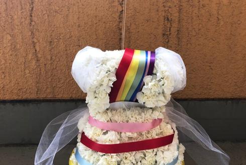 中野サンプラザ ロッカジャポニカ 高井千帆様のライブ公演祝い楽屋花 衣装モチーフ