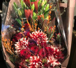 六本木 クラブ開店祝い花束