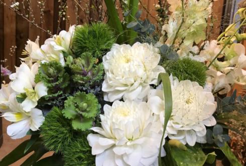南青山 アパレルショップ周年祝い花