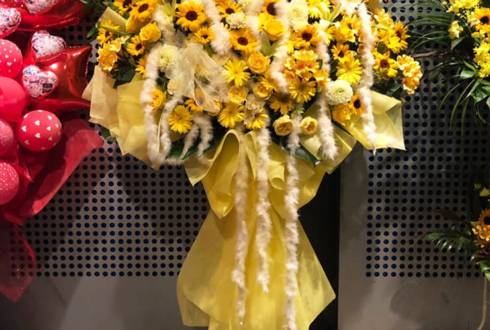 ZeppTOKYO フェアリーズ様のライブ公演祝い花束風スタンド花