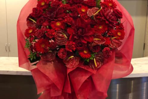 星陵会館 和合真一様の「和合の輪感謝祭」祝い花束風スタンド花