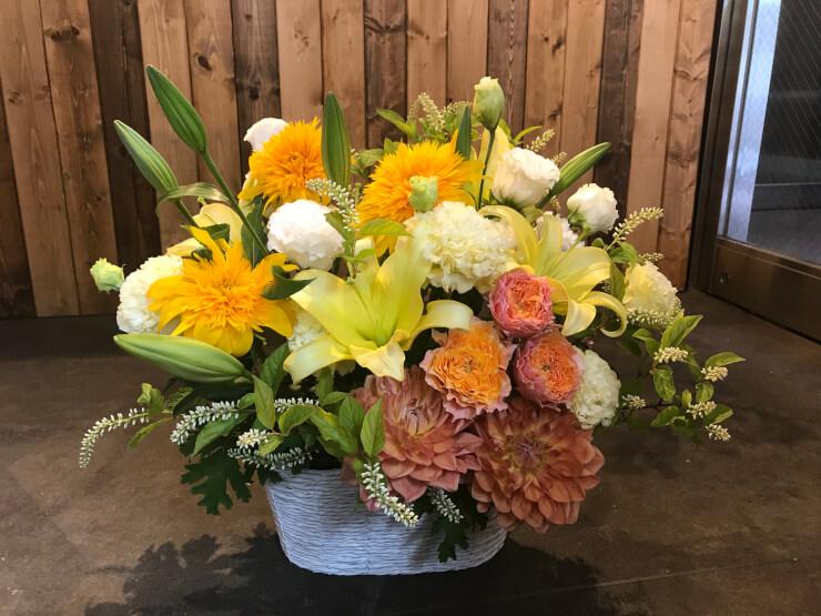 銀座クラブ 誕生日祝い花